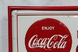 1950s Coca-Cola Tin Advertising Chalkboard Menu Vintage Sign AM17