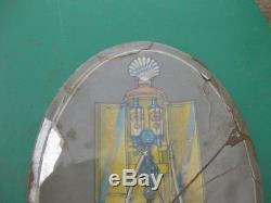 23804 Old Garage Vintage Shell Sign Advert N0t Enamel Gas