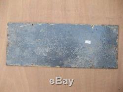 30957 Old Antique Enamel Sign Vintage Shop Advert Metal Peek Frean cake Tin