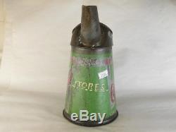 31588 Old Vintage Garage Tin Can Sign Advert Oil Globe Pump Jug Pourer Castrol