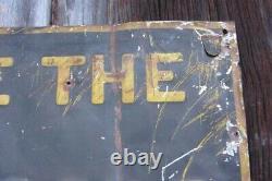 DeLaval Milk Sign Vintage Metal Sign Farm Sign De Laval Tin Tacker Farm Sign