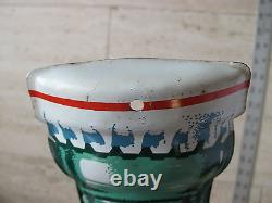 EXTRA LARGE Vintage 29 Coca Cola Sign Bottle Thermometer Tin LITHO Advertising