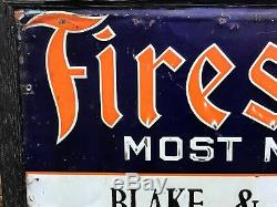 Firestone, Vintage, collectables, gas oil, tin painted, signs