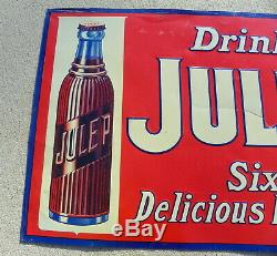 Julep Beverage Vintage Soda Tin Sign