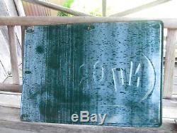 Nugrape Large Vintage Tin Sign 28 x 20 NOS Unique Piece
