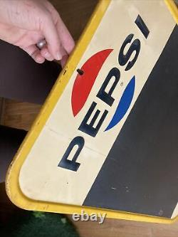 Pepsi Vintage Tin Sign Lunch Board Say Pepsi Please M-167