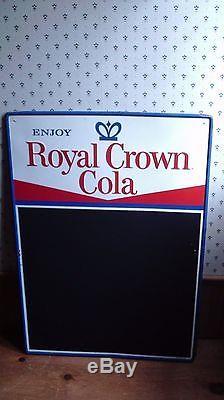 Royal Crown Cola Tin Sign Nehi Soda Cola Vintage Rc Cola