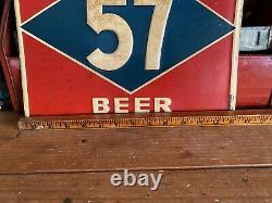 Rare Vintage Gerst 57 Beer Tin Sign Nashville Tennessee