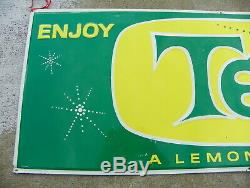 Teem Soda Vintage Tin Sign