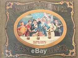 Union Brewing Cascade Beer Vintage Tin Sign