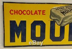 Vintage 1930s Mounds Chocolate Coconut Candy Bar Tin Embossed