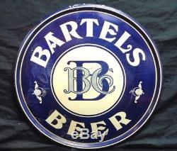 Vintage 1930's 40's BARTELS BEER 18 Advertising BULLSEYE Chas Shonk Chicago