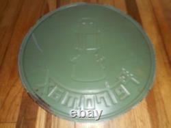 Vintage 1930s PETROMAX Kerosene Lanterns Round Tin GREAT COLORS Advertising SIGN