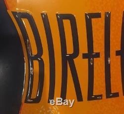 Vintage 1938 Bireleys Tin Orange Soda Porcelain Sign