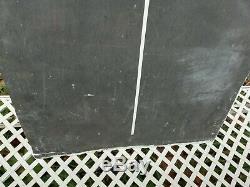 Vintage 1950's Senior Service Tin Enamel Pub Darts Scoring Chalk Board Sign