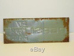 Vintage Advertising Tin Pepsi Sign, Pop Soda, Original, Say Pepsi Please 1965