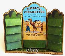 Vintage Camel Cigarettes Metal Tin Zippo Display 1913-1998 Catalog NEAR MINT