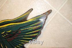 Vintage Dekalb Seed Corn Weathervane Flying Ear Metal Tin 18 Farm Sign
