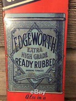 Vintage Edgeworth Tobacco Sign
