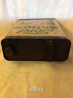 Vintage Ford One Gallon Anti-Freeze Tin $1.00 Advertising Sign Can