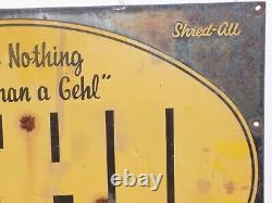 Vintage Gehl Bros Tin Farm Sign