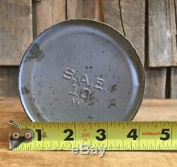 Vintage Jenney Motor Auto Oil 1 Quart Tin Can Unopened Gas Service Station Sign