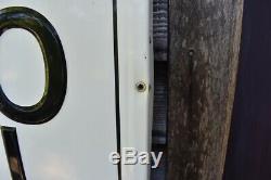 Vintage Large (80) WOLF'S HEAD Embossed Tin Motor Oil Sign
