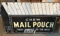 Vintage Mail Pouch Tin Sign