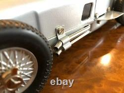 Vintage Marklin Tin Mercedes-Benz W196 Signed by Karl Kling Wind Up Motor