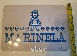Vintage Mexican Marinela Gansito Tin Metal Sign Advertising 9×6.5 inches