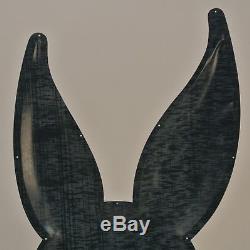 Vintage Original Bunny Bread Embossed Tin Sign Not Porcelain Sign