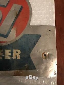 Vintage Original Goldcrest 51 Tin Beer Sign, Memphis, Tennessee- HTF