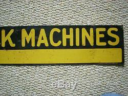Vintage Original IH Farmall Mccormick Machines Tin Sign