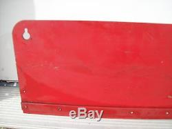 Vintage Original Painted Tin WEATHERHEAD Fuel Lines Wall Hanging Display Rack