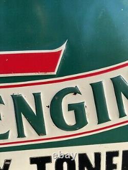 Vintage RARE Fairbanks-Morse Z engine, NY Hit Miss Tin Tacker Sign Walla Walla