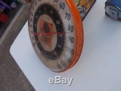 Vintage RARE N-Hair Tobacco Advertising Thermometer Sign Black Americana