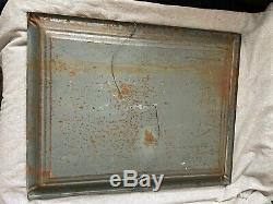Vintage Rare Buffalo Brewing Tin Sign