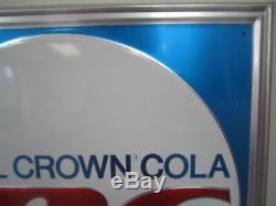 Vintage Royal Crown (RC) Cola Metal/Tin Sign 23.5 x 23.5 Grace-Brite