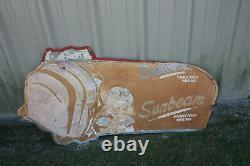 Vintage SUNBEAM BREAD Large Metal Tin Sign 57'' X 30'