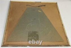 Vintage Tin Over Cardboard Fresh Up 7 up Sign RARE