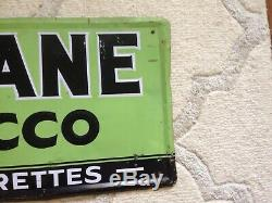 Vintage original tin sign advertising Hi Plane tobacco great graphics