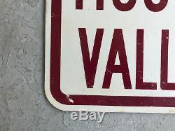 Vtg Museum Ship Valley Camp Tin Road Sign 24 Sault Ste Marie Michigan Soo Locks