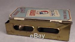 Vtg Zig Zag Tin Cigarette Tobacco Rolling Paper Dispenser Advertising Sign Store
